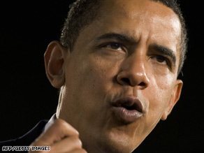 President Obama pushed for stimulus plan support Monday night during a national news conference.