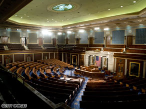 The U.S. House of Represenatives, home to many beneficiaries of gerrymandering.