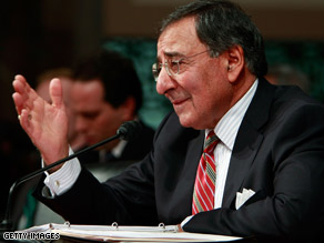 CIA chief nominee Leon Panetta answers questions February 5 at his confirmation hearing.