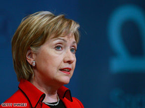 Secretary of State Hillary Clinton: Ready to move forward with six-party talks on North Korea.