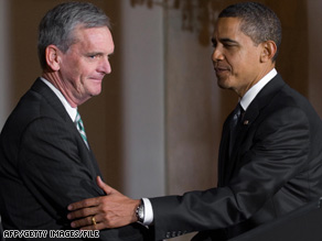 Sen. Judd Gregg says it was his mistake to accept the offer from President Obama.