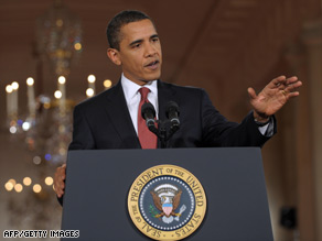 President Obama didn't find much bipartisanship over the stimulus bill or his pick for commerce secretary.