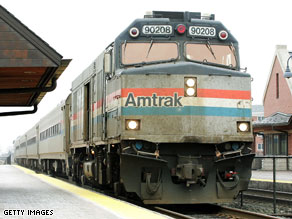 Amtrak gaines funding in the compromise version of the economic stimulus bill.