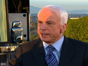 Sen. John McCain says the Obama administration is off to a bad beginning.
