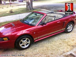 Daniel Luke Diaz of Diamond Bar, California, says he feels he has a duty to buy American cars.