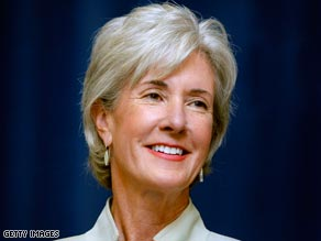 Officials say Kansas Gov. Kathleen Sebelius has a good personal relationship with President Obama.