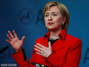 "Hillary Clinton has said any North Korean  missile launch would be ""very unhelpful"" to relations with the U.S."