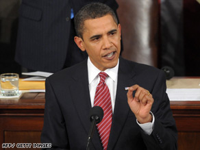 "President Obama tells Congress Tuesday night: ""I have no illusions this will be an easy process."""