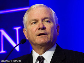 US Defense Secretary Robert Gates has signed a nondisclosure form related to budget talks.