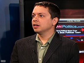 DailyKos' Markos Moulitsas says his online community is wary of Democrats being corrupted by power.