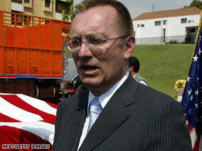 Top Middle East official Jeffrey Feltman, seen here in 2006, met with the Syrian Ambassador Thursday.