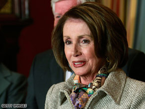 House Speaker Nancy Pelosi has questioned the need to keep 50,000 troops in Iraq until 2011.