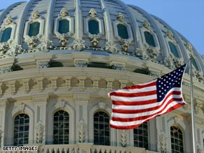 The Senate passed a $410 billion spending bill Tuesday evening.