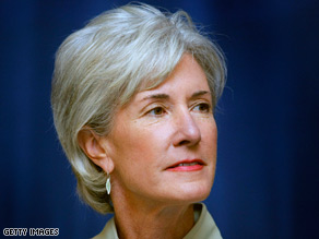 Kansas Gov. Kathleen Sebelius is said to have a great personal relationship with President Obama.