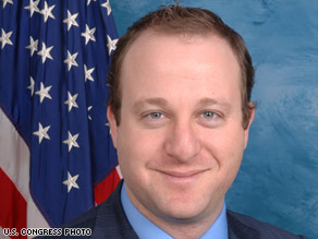 Rep. Jared Polis says his staff retreat included a yoga session, vegan dinner and planning meetings.