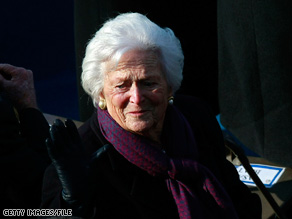 Former first lady Barbara Bush was released from a Texas hospital Wednesday, four days after being admitted for a series of tests.