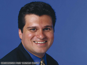 Ruben Navarrette says President Obama is making the right choice by moving to the center.