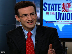 Peter Orszag says it is too late to cut earmarks from the spending bill inherited from the Bush administration.