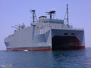 The Pentagon says the USNS Impeccable, a surveillance ship, was on routine patrol in the South China Sea.