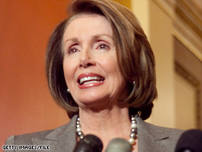 House Speaker Nancy Pelosi met with economists and other Democrats on Tuesday to discuss the stimulus.