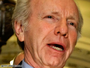 Sen. Joseph Lieberman says a number of Somali-Americans support terrorist groups.