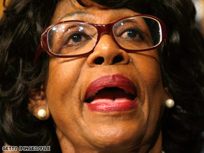 Rep. Maxine Waters is under fire for asking for help for a bank in which her husband holds stock.