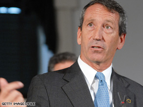 South Carolina Gov. Mark Sanford asked to use some of his state's stimulus funds to pay off the state debt.