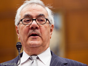 Rep. Barney Frank says the Obama administration made a 'big mistake' on a Justice Department brief supporting the Defense of Marriage Act.