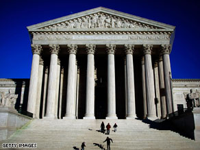 President Obama's recent judicial pick may hint at a fight over a vacancy on the Supreme Court.