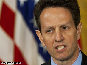 Tim Geithner is facing what President Obama called the toughest challenges of any Treasury secretary since Alexander Hamilton.