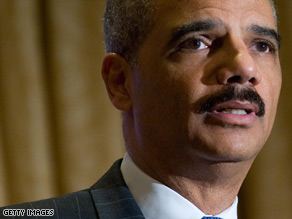 "Attorney General Eric Holder says the new administration wants to ""usher in a new era of open government."""