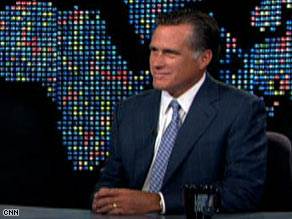 "Mitt Romney said President Obama's ""Tonight Show"" appearance wasn't the right timing."