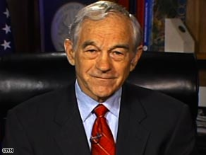 """The whole process is outrageous,"" Rep. Ron Paul says of Congress' reaction to the financial crisis."