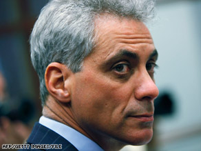 Chief of Staff Rahm Emanuel says President Barack Obama is using the media to keep citizens informed.