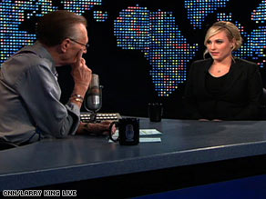 "Meghan McCain tells Larry King on Monday night: ""I'm not going to be bullied around about my weight."""