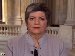 Homeland Security Secretary Janet Napolitano says the DHS plan will address demand and border security.