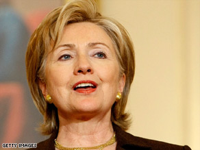 Americans like Hillary Clinton's work as secretary of state, according to a CNN/Opinion Research Corp. poll.