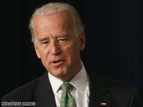 "Vice President Biden says the checks will ""make a big difference"" for older Americans and those with disabilities."
