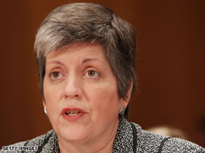 Homeland Security Secretary Janet Napolitano her agency's challenge is to operate more efficiently.