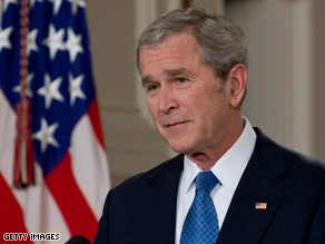 A top GOP leader says George W. Bush, politically, was a &quot;millstone&quot; around the GOP's neck.