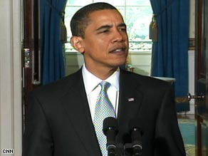 President Obama announced his plans for troubled U.S. automakers on Monday.
