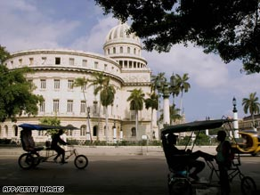 Senators who support lifting travel restrictions to Cuba say it will help improve U.S. relations with the country.