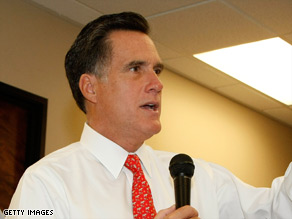 Former Massachusetts Gov. Mitt Rommey helped Senate Republicans raise $2 million at a fundraiser Wednesday.