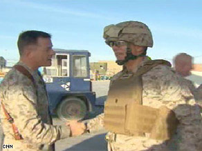 CNN's Barbara Starr says any soldier will agree -- securing morning coffee is a priority.