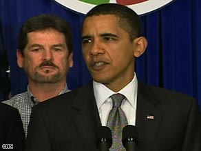 President Obama on Monday says the transportation projects will help create or save jobs.