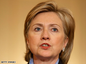 Secretary of State Hillary Clinton has called for measures to help combat pirate attacks off Somalia.