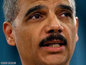 Attorney General Eric Holder says government workers who followed protocol won't be prosecuted.