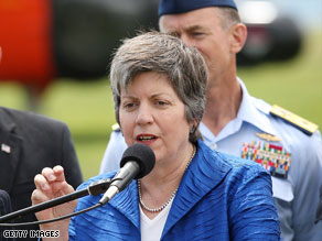 Homeland Security chief Janet Napolitano, here last week in San Pedro, California, wants to replace the Real ID.
