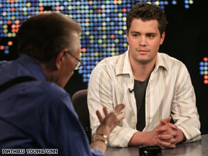 "On ""Larry King Live"" on Wednesday, Levi Johnston talks about his relationship with the Palin family."