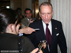 Sen. Arlen Specter was expected to face a tough re-election battle in 2010.
